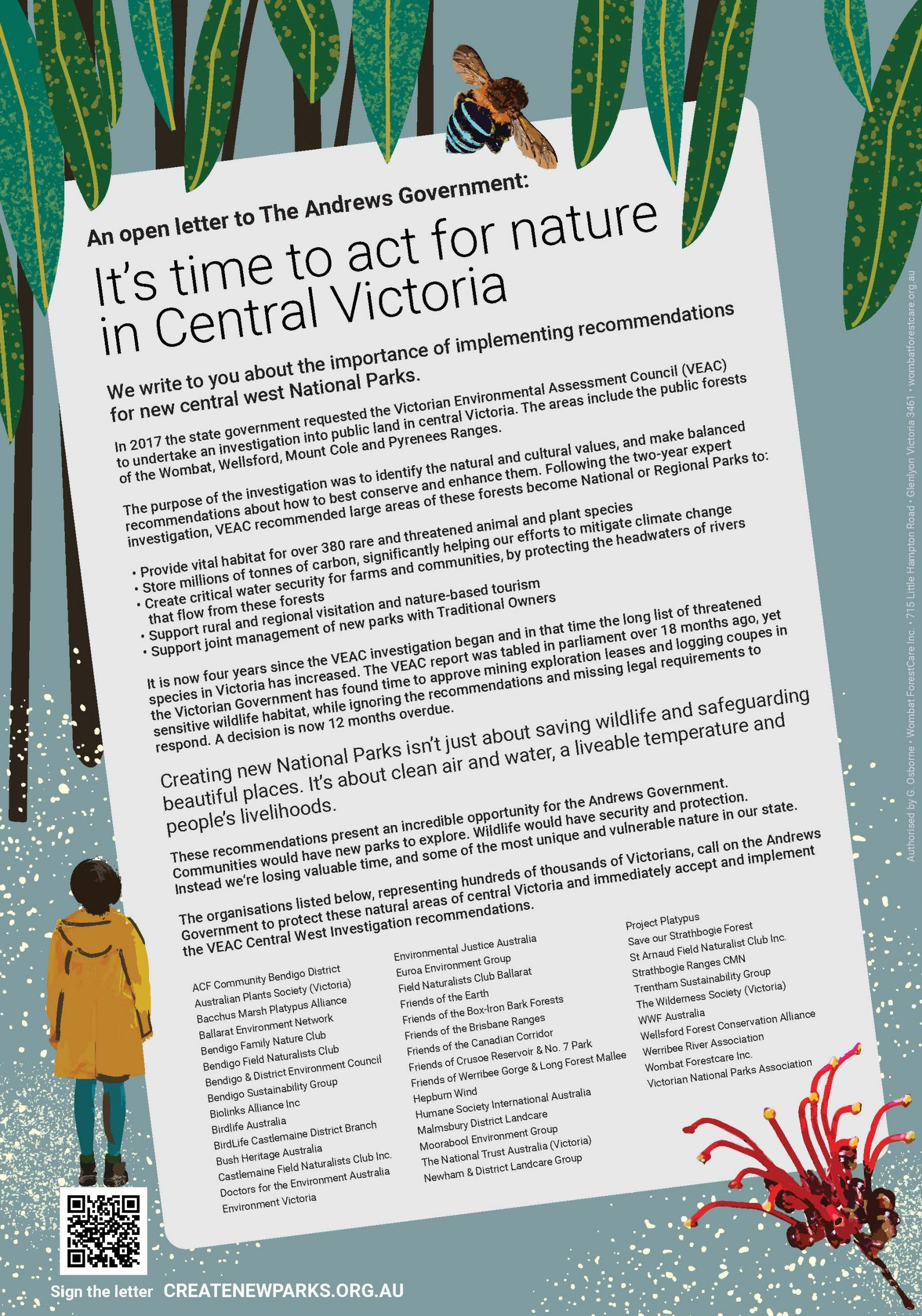 An open letter to the Andrews' Government: Less talk, more protection for nature